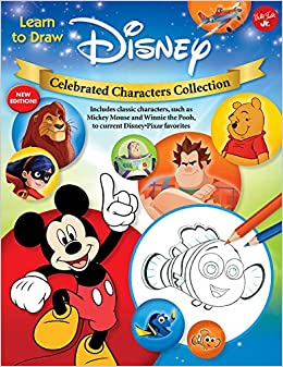 9760126c5908 Learn to Draw Disney Celebrated Characters Collection  New edition ...