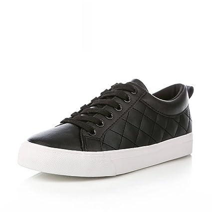 6e769e89a7082 Amazon.com: Tsing Yi Women Simple Fashion Flat Casual Shoes Sports ...