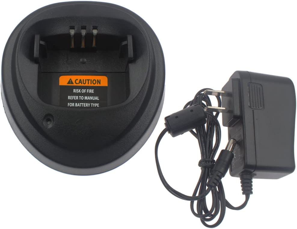 US Plug Socobeta Walkie Talkie Charger Power 12V Charging Power Adapter for EP450//GP3188//GP3688//CP040
