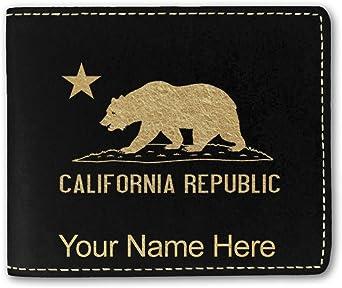 Buckle-Down Bi-Fold Wallet New In Box California Republic Flag Golden Bear NEW