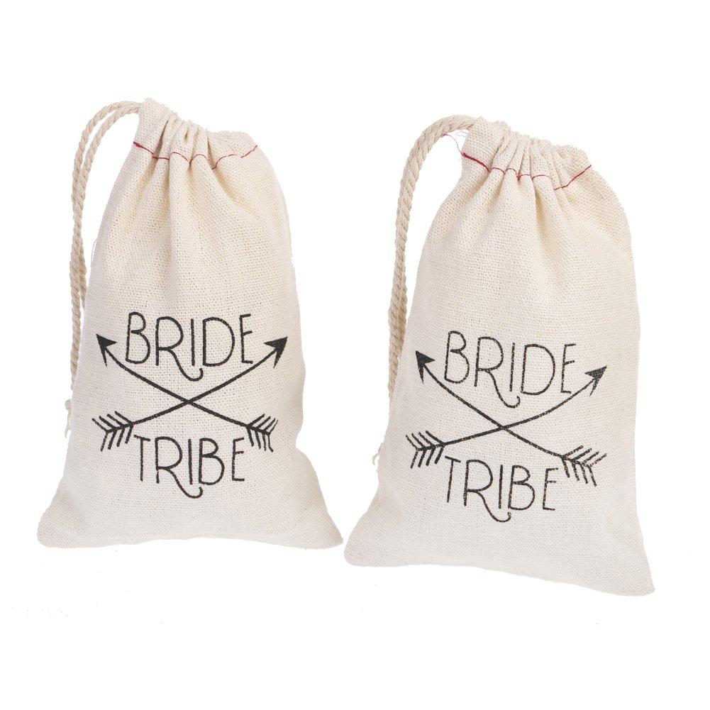 Amazon.com : Team Bride & Bride Charcoal & Silver Hair Ties ...