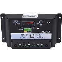 SODIAL(R) Controlador Regulador de Carga para Bateria Panel Solar 20A 12V/24V