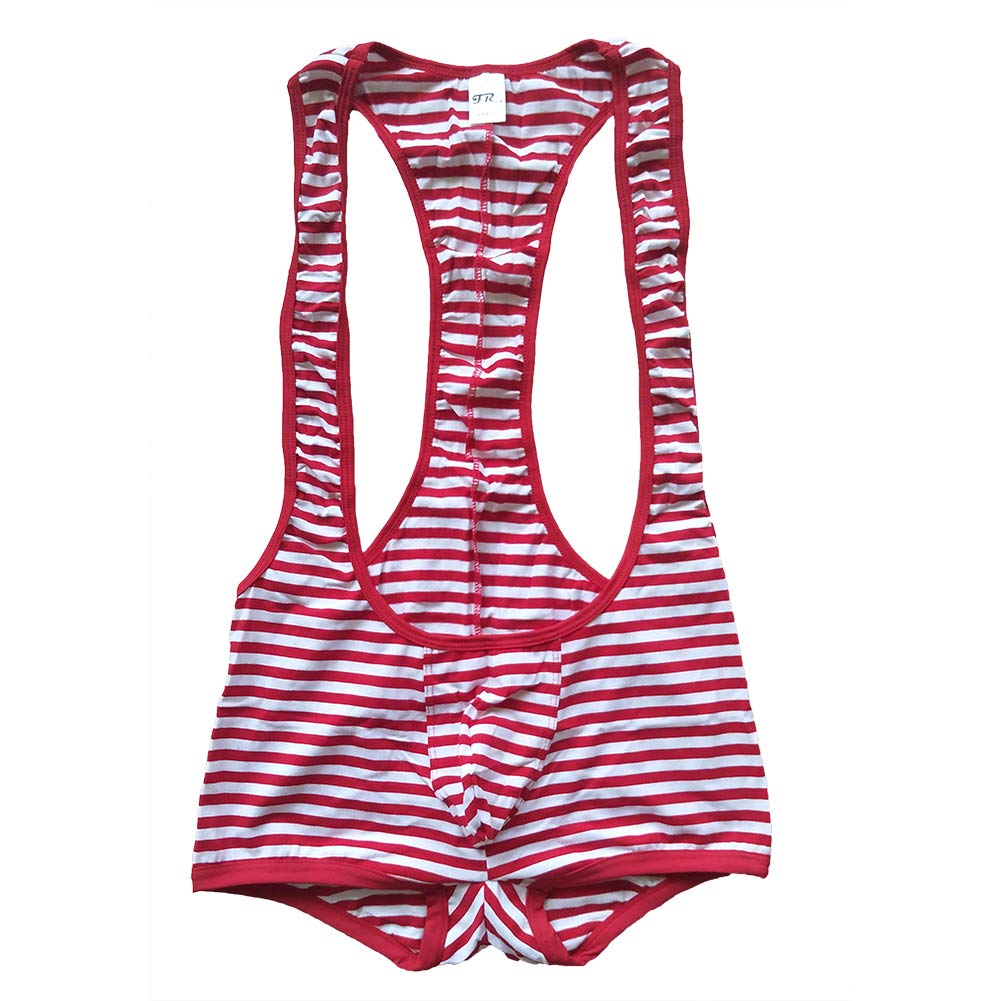 Cotton Red White Stripe