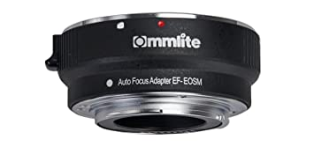 M2 M3 M5 M6 M10 M50 M100 EOS用電子アダプターM1 CommliteレンズマウントアダプターCM-EF-EOS Mマウントカメラ、Canon M Canon EF-EOS
