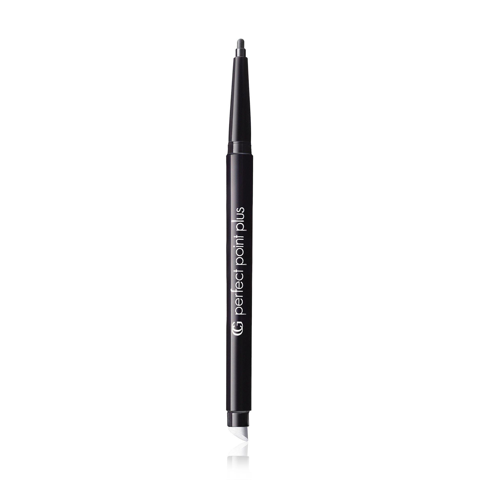 COVERGIRL Perfect Point PLUS Eyeliner, One Pencil, Black Onyx Color, Self Sharpening Eyeliner Pencil, Smudger Tip for Blending
