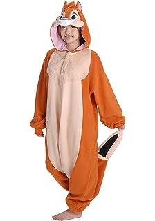 dale kigurumi adult halloween costume pajama chip dale cosplay