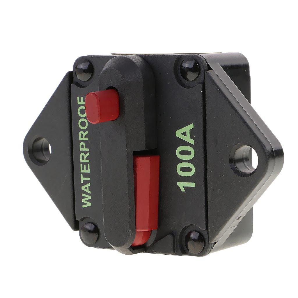 100A D DOLITY Automatiksicherung 70A 80A 100A Sicherungshalter 12V 24V 32V PKW Auto KFZ