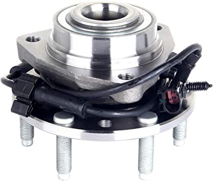 03-08 Isuzu Ascender Saab 9-7X MAYASAF 513188 Front Wheel Hub and Bearing Assembly 6 Lug w//ABS Fit 02-09 GMC Envoy//Chevy Trailblazer//03-06 SSR 04-07 Buick Rainier RWD 02-04 Olds Bravada