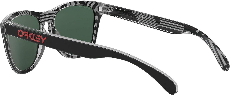 Oakley Men's Frogskins Sunglasses Uc Tokyo Black/Prizm Ruby