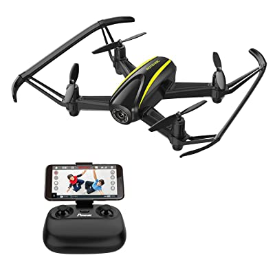 Potensic U36WH WiFi FPV Drone with 720p HD Camera , Wide-Angle Live Video RC Quadcopter with Altitude Hold Function for Childs, Adults Beginners: Toys & Games
