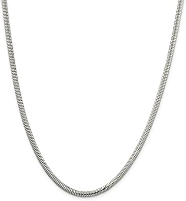 14K Yellow Ioka White OR Rose Gold 1.8mm Hollow Half Round Box Chain Necklace with Lobster Clasp