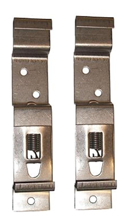 Trailer Nummernschild Halter Clips Nummernschild Klammern Edelstahl Spring Loaded Stahl 1/Paar BITS4REASONS 2/x