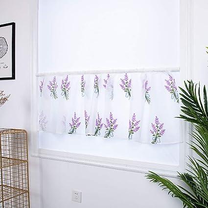 Girl/'s Ivory Smocked Shabby Rod Pocket Window Curtains Drapes Kids 100/% Cotton
