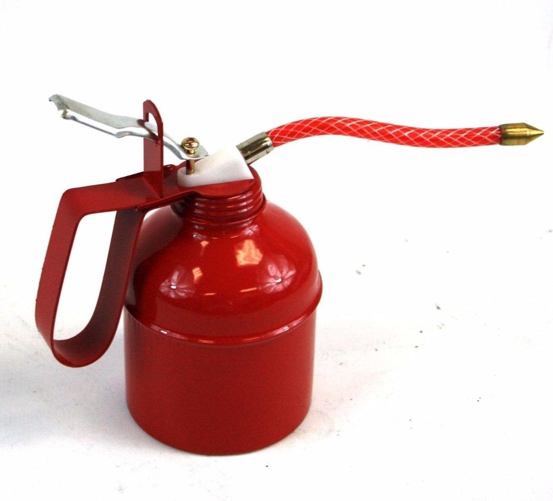 Car Accessories Red Squirt Bottle Oil Can Flexible Spout Nozzle Pump Action Lot Two 500CC 500ml - Automotive Accessories - Skroutz