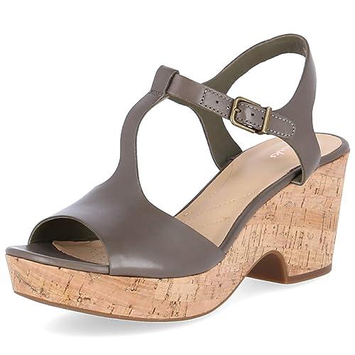 new styles 6625c cb043 Clarks, Sandali Donna: Amazon.it: Scarpe e borse