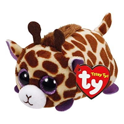 Ty Mabs Giraffe - Teeny 4 inch - Stuffed Animal (42140) Beanies: Toys & Games