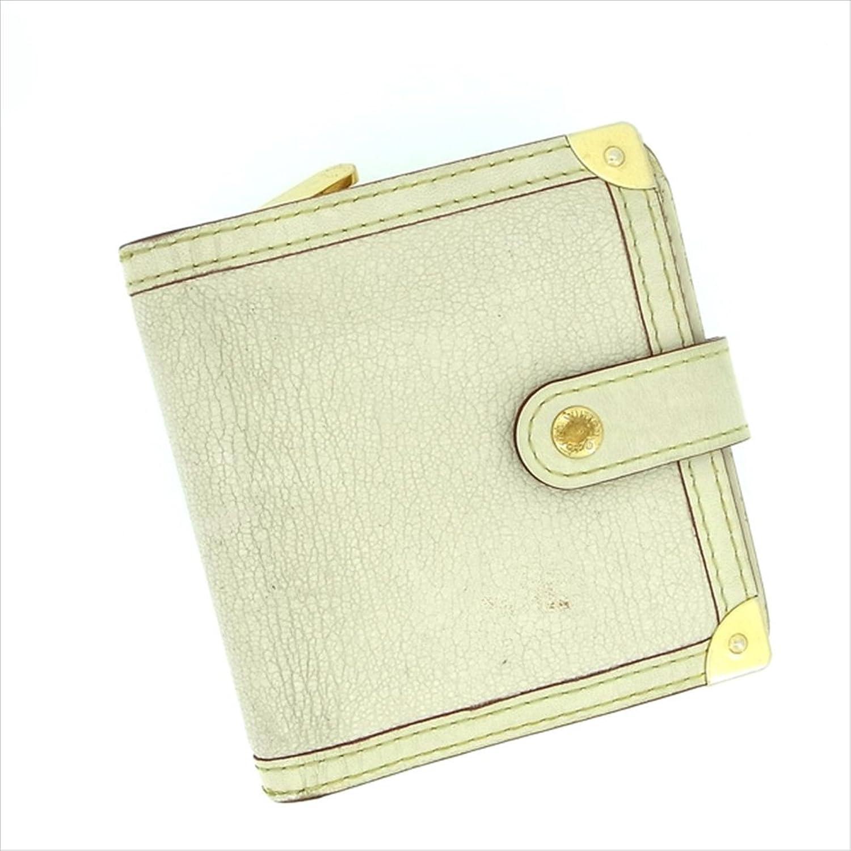 ルイヴィトン Louis Vuitton 二つ折り財布 二つ折り ユニセックス コンパクトジップ M91831 スハリ 中古 Y162 B0772TD37X