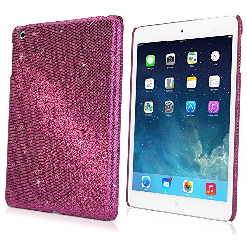 BoxWave Apple iPad mini with Retina display (2nd Gen/2013) Glamour & Glitz Case - Premium Stylish Glitter Sequin Hard Back Case for the Apple iPad mini with Retina display (2nd Gen/2013) (Cosmo Pink)