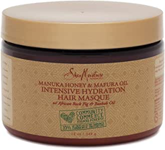 Shea Moisture Manuka Honey and Marfura Oil Intensive Hydration Masque, 340 ml