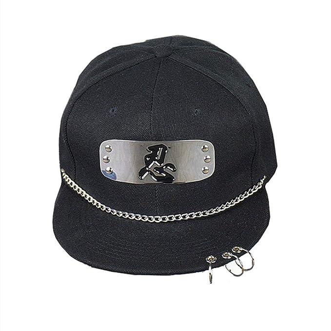 HX fashion Tze Naruto Diadema Cool con Gorras De Béisbol Unisex Tamaños Cómodos Ajustables Gorras Sombrero Gorras De Moda para Hombres Ropa (Color ...