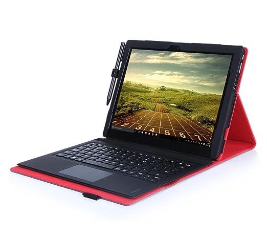 3 opinioni per Armourdog® Lenovo Miix 700Custodia in nero con fodera rossa