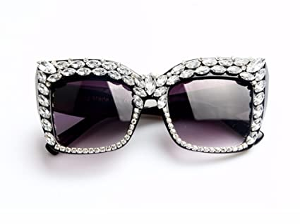 5a9df14fa8bc2 Amazon.com  Women Sunglasses Fashion Bling Rhinestones Vintage Shades  Ladies Oversize Men Sunglasses Brand Designer  Everything Else