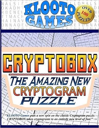 KLOOTO Games CRYPTOBOX: The Amazing New Cryptogram Puzzle