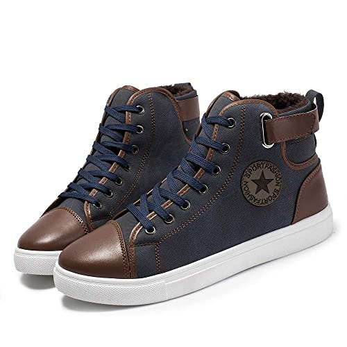 Zapatillas Running Hombre Deportivas Hombre Ofertas Zapatos Causales para Hombre Además De Botines De Terciopelo Zapatos Zapatos Altos Botas Zapatos: ...