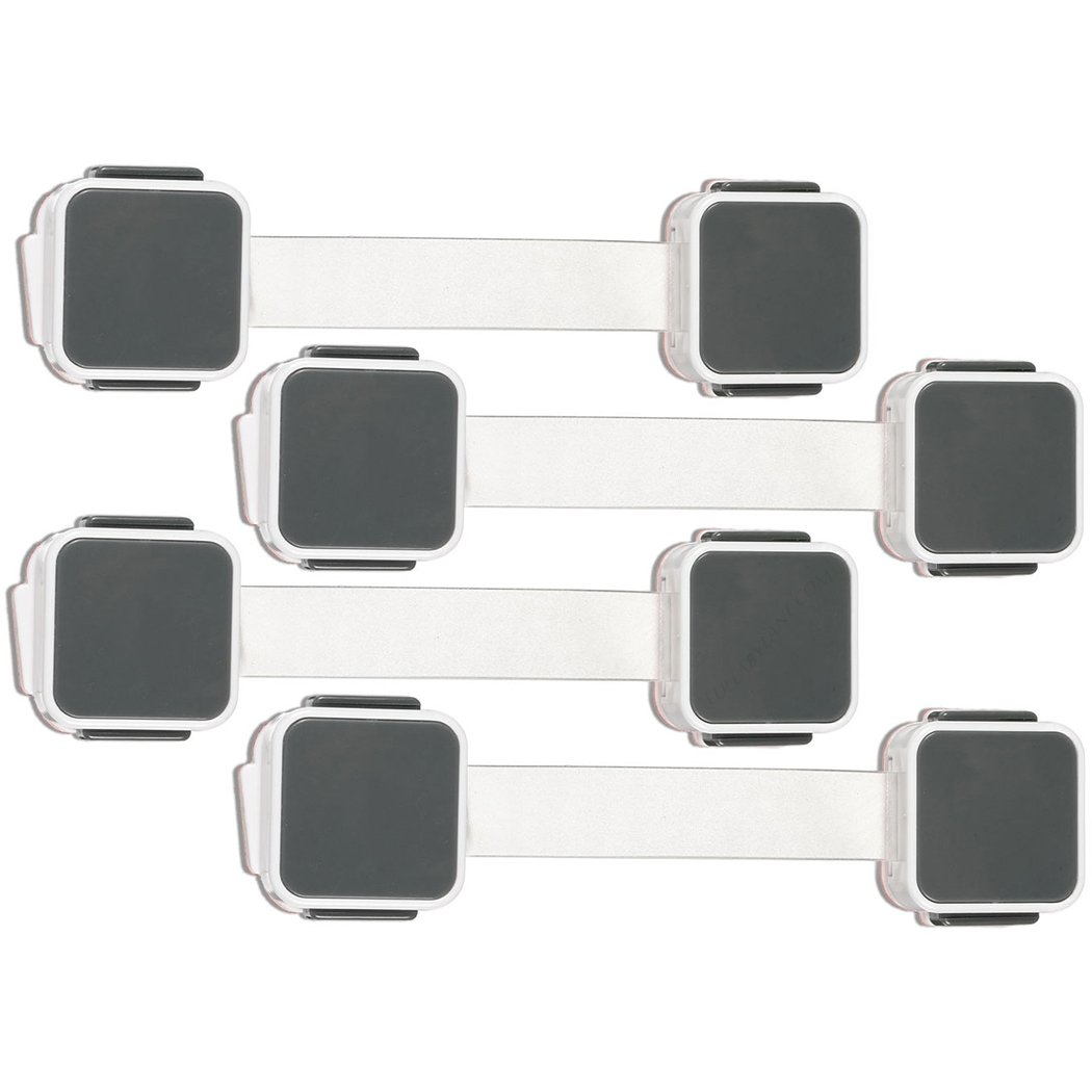 Munchkin XTRAGUARD 4 Count Dual Action Multi Use Latches