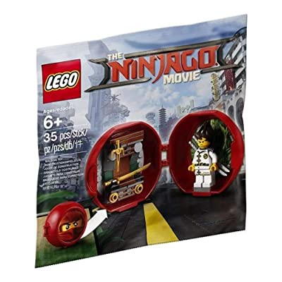 LEGO 5004916 The LEGO Ninjago Movie Kai\'s Dojo Pod: Toys & Games [5Bkhe0406258]