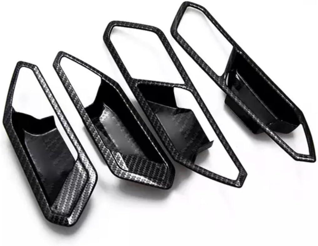 Ffz Parts Türgriff Schalen Lautsprecher Rahmen Blende In Carbon Optik Passend Für Tiguan 2 Ad1 Auto