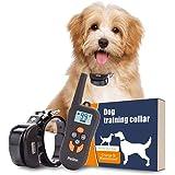 PetInn Wiederaufladbar und Wasserdicht Anti-Bell-Halsband für Kleine und Mittelgroße Hunde Vibrationshalsband