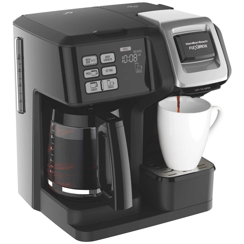 Hamilton Beach Brands Inc. 49976 Flex Brew 2-Way Coffee Maker