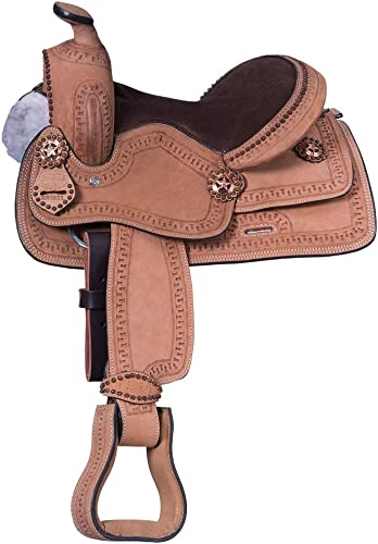 King Series Cowboy RO Serpentine Saddle