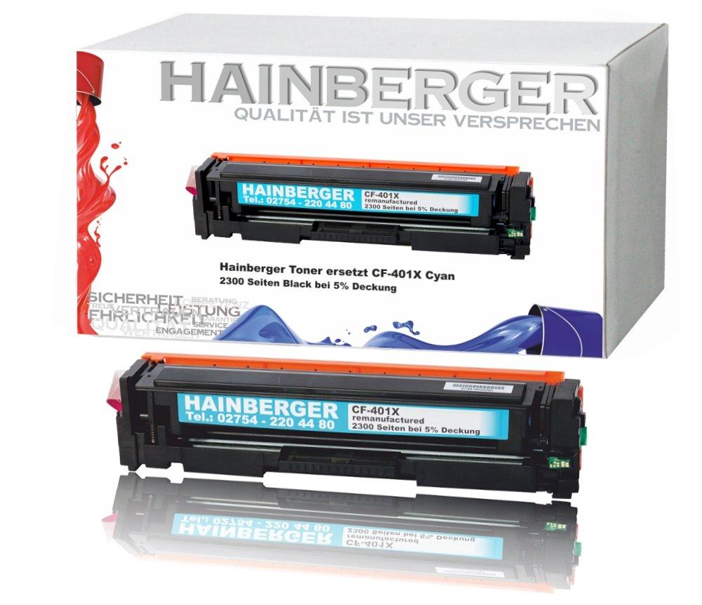 Hainberger - Tóner cian para cf401 X para HP Color LaserJet Pro ...