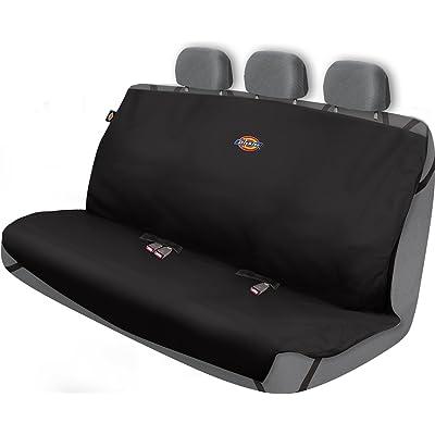Dickies Heavy Duty Rear Bench Seat Protector, Black: Automotive