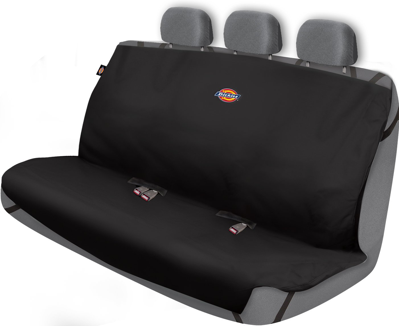 Dickies 3000721 Heavy Duty Rear Bench Seat Protector, Black by Dickies
