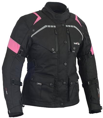 LOVO Chaqueta 3/4 para moto (Mujer) (XS)