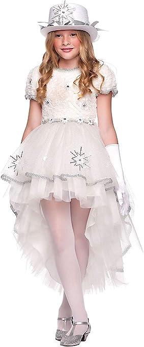 VENEZIANO Disfraz Ice Queen DE LA Muchacha Vestido Fiesta de ...