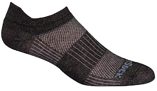 Sock Size:10-13//Shoe Size WrightSock Mens Coolmesh II Lo Single Pack Blue 6-12