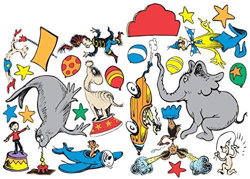 Eureka Dr. Seuss If I Ran The Circus 2-Sided Deco Kit