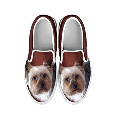 Shoetup Yorkshire Print Slip Ons Shoes For Women