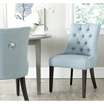 Merveilleux Safavieh Mercer Collection Harlow Ring Chair, Light Blue, Set Of 2