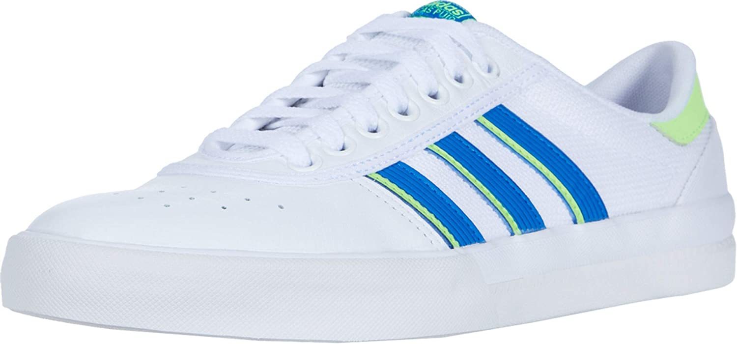 adidas Skateboarding Lucas Premiere Footwear White/Glory Blue/Signal Green Men's