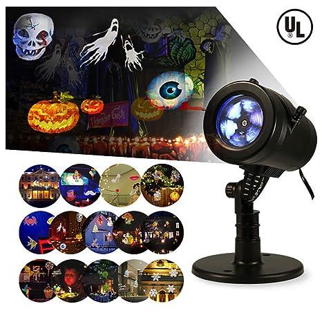 Amazon.com: Proyector de luces de Navidad para interiores y ...