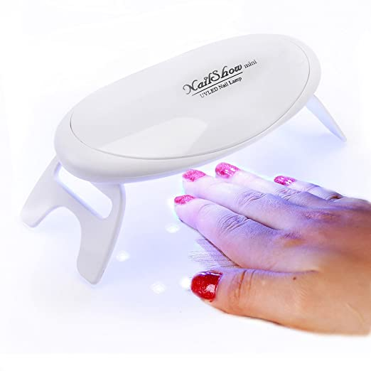 NailShow Lampara UV de uñas portatil