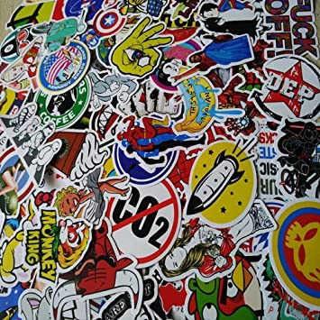 Amazoncom Voljee Cool Vinyl Stickers For LaptopBedroomCar - Bike vinyl stickers