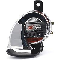 Universale 12V 110dB 510HZ Altoparlante vocale elettrico per moto Horn Loud Qiilu Trombe Moto
