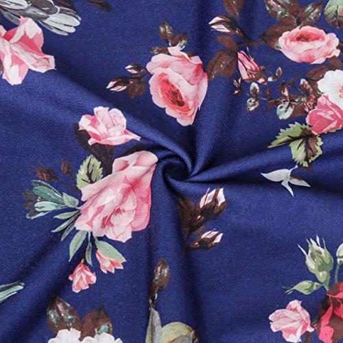 Marineblau,Baumwolle//Modal Ringella 8571003 Volantärmel,Rundhals Nachthemd