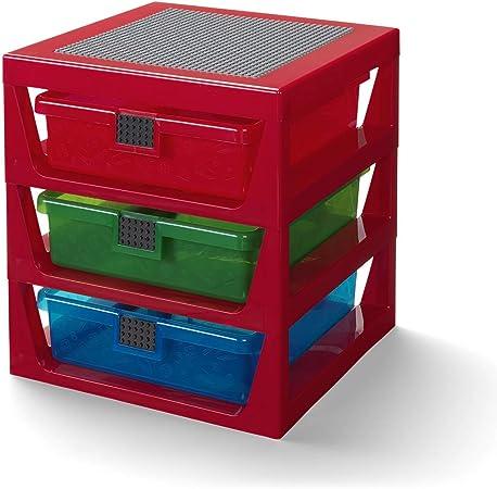 LEGO Estante de Almacenamiento con 3 cajones, tamaño único: Amazon ...